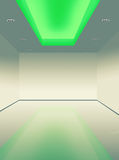 Innenlicht der beleuchtungsdecke unten geführt vektor abbildung