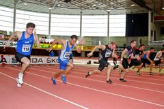 Innenmeisterschaft 2012 Lizenzfreie Stockfotos