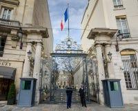 Innenministerium an der richtigen Stelle Beauvau, Paris, Frankreich Lizenzfreie Stockfotos