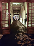 Innennachtszene Hotel-Kasino Carrasco Lizenzfreies Stockfoto