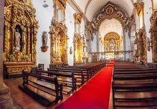 Innenpanorama des S Bento-Kloster Stockbilder