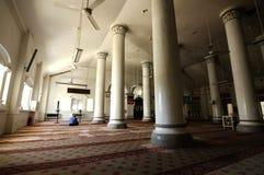 Innenraum Abidin Mosques in Kuala Terengganu, Malaysia Lizenzfreies Stockfoto