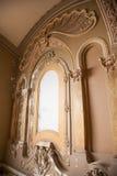 Innenraum am alten Geschichtekasinogebäude Stockfoto