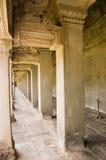 Innenraum, Angkor Wat Tempel Lizenzfreies Stockfoto