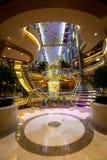 Innenraum auf Cruiseship Stockfotografie