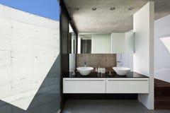 Innenraum, Badezimmer Stockbild