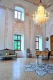 Innenraum barocken Schloss wolfsthurn Lizenzfreie Stockbilder