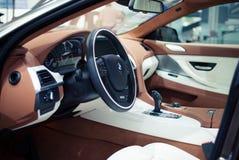 Innenraum BMW-640i Stockfoto