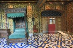 Innenraum Chateau de Blois, Frankreich Lizenzfreie Stockfotos