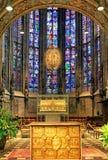 Innenraum der Aachen-Kathedrale, Deutschland Stockbild