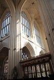 Innenraum der Bad-Abtei Stockbild