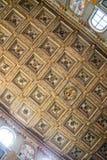 Innenraum der Basilika von St. Mary Major in Rom Lizenzfreie Stockfotografie