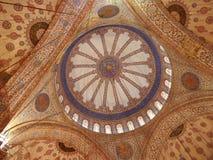 Innenraum der blauen Moschee Lizenzfreie Stockfotografie