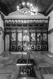 Innenraum der bulgarischen orthodoxen Kirche Stockfotos