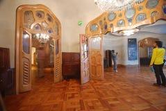Innenraum der Casen Batllo Lizenzfreies Stockfoto