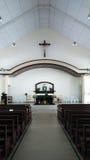 Innenraum der christlichen Kirche Lizenzfreie Stockbilder
