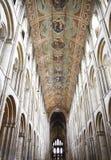 Innenraum der Ely Kathedrale Lizenzfreies Stockfoto
