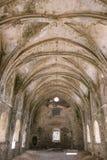 Innenraum der hohen Kirche in Kayakoy Karmylassos vom 17. Jahrhundert, die Türkei stockfotos