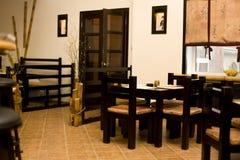 Innenraum der japanischen Gaststätte Stockbild