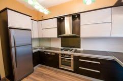 Innenraum der Küche Lizenzfreies Stockfoto