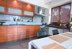 Innenraum der Küche Lizenzfreies Stockbild