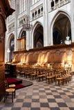 Innenraum der Kathedrale des heiligen Kreuzes, Orlï ¿ ½ amerikanischer Nationalstandard Lizenzfreies Stockfoto