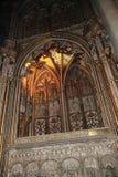Innenraum der Kathedrale, die Stadt von Toledo, Spanien Stockfotografie