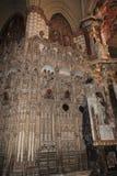 Innenraum der Kathedrale, die Stadt von Toledo, Spanien Stockfotos