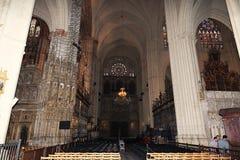Innenraum der Kathedrale, die Stadt von Toledo, Spanien Stockbilder