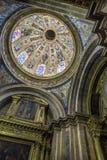 Innenraum der Kathedrale von Cuenca, Kapelle von Nuestra Señora d stockfotografie