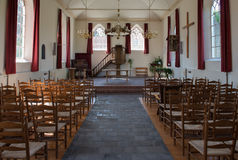 Innenraum der Kirche Lizenzfreie Stockfotos