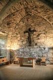 Innenraum der Kirche Stockbild