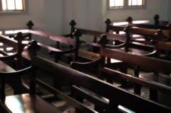 Innenraum der Kirche Lizenzfreie Stockbilder