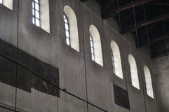 Innenraum der Kirche der Geburt Christi Lizenzfreie Stockfotos