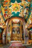 Innenraum der Kirche der drei Hierarchs, in Constanta, Rumänien Stockbild
