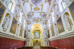 Innenraum der Kirche von San Domenico in Palermo, Sizilien, Italien stockfotografie