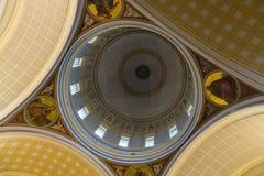 Innenraum der Kirche von Sankt Nikolaus Lizenzfreie Stockbilder