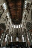Innenraum der Kirche von St. Lawrence Grote Kerk oder der großen Kirche in Alkmaar, Stockfoto