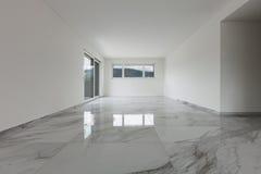 Innenraum der leeren Wohnung Stockbilder