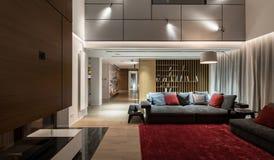 Innenraum in der modernen Art Stockbild