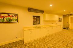Innenraum der modernen Küche Lizenzfreies Stockfoto