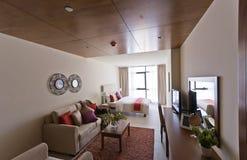 Innenraum der modernen Wohnung Stockfotos