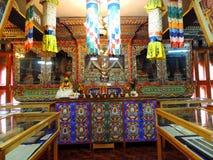Innenraum der Nationalbibliothek von Bhutan, Thimphu Lizenzfreie Stockfotografie
