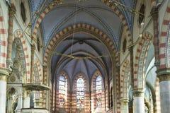 Innenraum der Sarajevo-Katholisch-Kathedrale Lizenzfreies Stockfoto