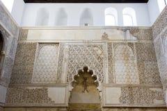 Innenraum der Synagoge stockfotografie
