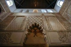 Innenraum der Synagoge in Cordoba, Andalusien, Spanien stockbild
