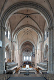 Innenraum der Trier-Kathedrale, Deutschland Stockfotos