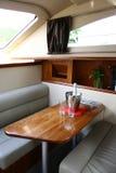 Innenraum der Yacht Lizenzfreies Stockbild