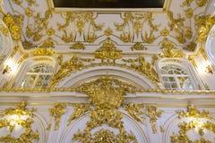 Innenraum der Zustands-Einsiedlerei, des Kunstmuseums und der Kultur in St Petersburg, Russland Lizenzfreies Stockbild