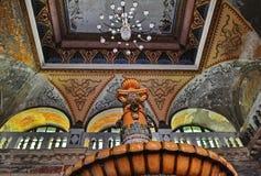 Innenraum des österreichischen Kaiserbades Stockbilder